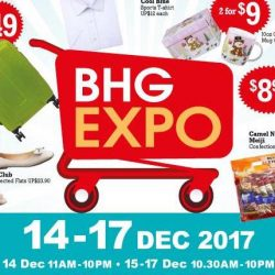 Singapore Expo: BHG Expo with Up to 80% OFF Gap, Banana Republic, Adidas, New Balance, Nike & More!