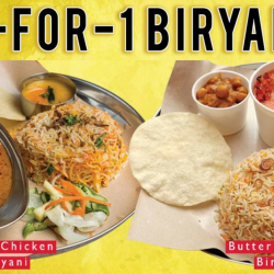 Prata Wala: Enjoy 1-for-1 Curry Chicken or Butter Chicken Biryani on 19 Dec 2017!