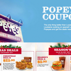 Popeyes: NEW Coupons for More Savings!