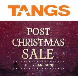 Tangs: Post-Christmas Sale Starts Now with Up to 70% OFF Fashion, Beauty & Home Essentials!