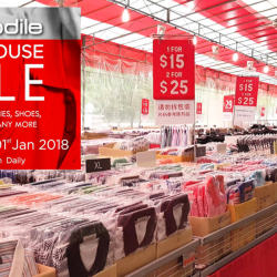 Crocodile: Warehouse Sale with Prices Starting from S$5!