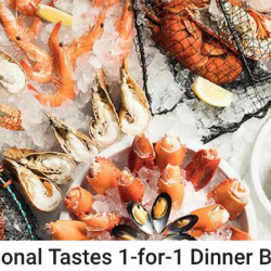 Chope: 1-for-1 Dinner Buffet at Seasonal Tastes, The Westin Singapore + Additional $18 OFF