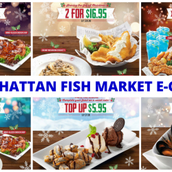 The Manhattan FISH MARKET: Have a Christmas Feast with These E-Coupons!