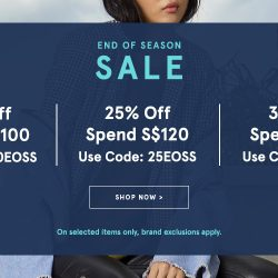 Zalora: End-of-Season Sale with Up to Extra 35% OFF