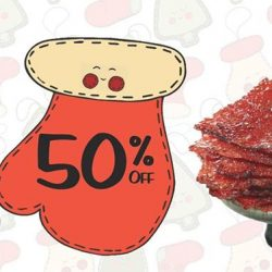 [Fragrance Bak Kwa] 3 Days Special: Islandwide 50% Discount For Signature Sliced Tender Bak Kwa --- From 8-10 Dec 2017, get 50% OFF