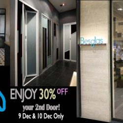 [BESGLAS SINGAPORE] Exclusively at IMM branch, Unit 03-28B ~ Moving Out Sales, get 30% off your 2nd Door!