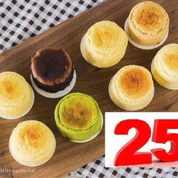 [Snaffles] Up to 25% discount for all CatchCakes !