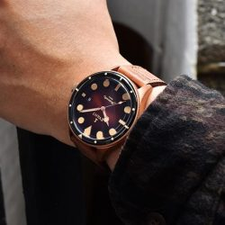 [Gnomon Watches] The Evant Tropic Diver Bronze Finale marks the end of the first iconic case from Evant.