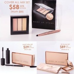 [MAKE UP STORE] Christmas Shopping at MAKE UP STORE this weekend.