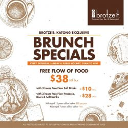 [Brotzeit German Bier Bar and Restaurant] Brunch is always a good idea.