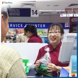 [NTUC FairPrice] More than just a cashier, Colleen's also a salesperson.