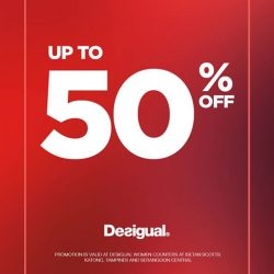 [Isetan] UP TO 50% OFF!