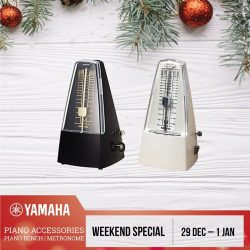 [YAMAHA MUSIC SQUARE] Last Weekend to enjoy great deals!