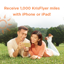 [M1 Concept Store] Receive 1,000 KrisFlyer miles when you sign up / re-contract with iPhone / iPad on any 2-year plan!