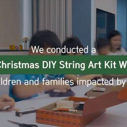 [Innisfree Singapore] It was a Green Christmas DIY String Art Kit workshop filled with warm smiles and excited chatter whilst hands were