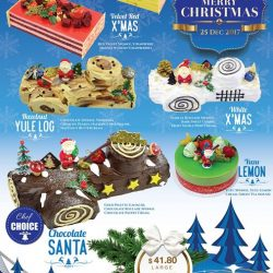 [Swee Heng Classic 1989] Your favorite Christmas cakes are now available at all Swee Heng 1989 Classic.