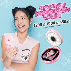 [Manekineko Karaoke Singapore] Celebrate the festive weekend with Manekineko and TR Mini.