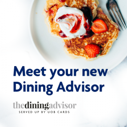 [UOB ATM] Thinking of a place to gather for last minute festive season dinners?