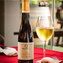 [Wine Universe Restaurant & Wine Bar] Our Sommelier's Selection for this week is a lovely sweet wine, the Riesling Beerenauslese Nussbrunnen.