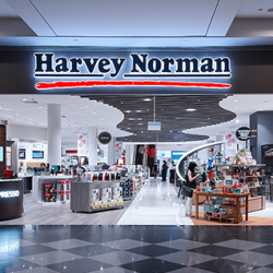 [American Express] Celebrate Christmas with Harvey Norman.