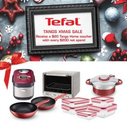 [Tefal] Don't miss out this Christmas shopping spree in TANGS Plaza and TANGS VivoCity!