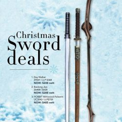 [Caesars] Sword deals this Christmas @ CAESARS.