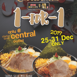 [Ramen Champion Singapore] Counting down to the best deal to welcome a new year!