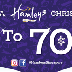 [Hamleys of London] Celebrate a joyous Christmas with Hamleys with a sale up to 70% off!