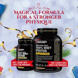 [GNC Live Well Singapore] Go harder, stronger, heavier this Christmas.