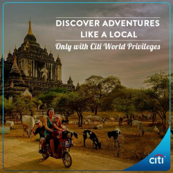 [Citibank ATM] Travelling soon?