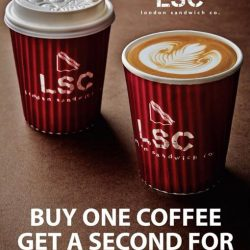 [London Sandwich Co.] BUY ONE COFFEE, GET THE SECOND FREE!