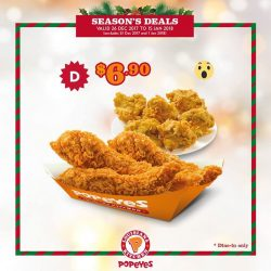 [Popeyes Louisiana Kitchen Singapore] Christmas might be over but here are some gifts left for you to unbox!