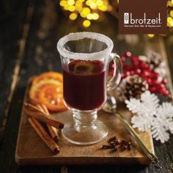 [Brotzeit] Fill this Christmas with magic -- let's order Glühwein, mulled wine!