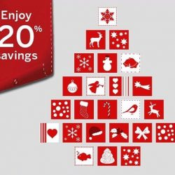 [American Express] Enjoy 31 days of Christmas rewards with 20% savings on selected items at the Membership Rewards catalogue at amex.