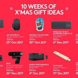 [Newstead Technologies] 10 Weeks of Xmas Gift Ideas from Logitech!