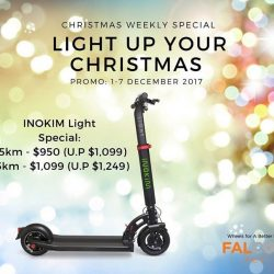 [Falcon PEV] Let Inokim Light Up Your Christmas!