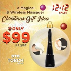 [OTO Bodycare] 12/12 SPECIAL - a Magical & Wireless Massager - NEW Christmas Gift Idea.