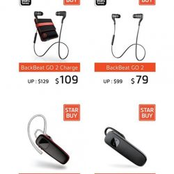 [Newstead Technologies] It's gifting season and Plantronics offers you a wide range of audio to choose.