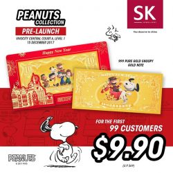 [SK Jewellery] Celebrate the launch of Peanuts Collection with us.