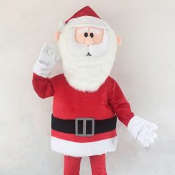 [Changi City Point] Say hi to our friendly Santa mascot today and get a free candy cane from 12pm to 2pm!