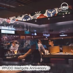 [Ippudo Express] It's IPPUDO Westgate's 4th Anniversary today!