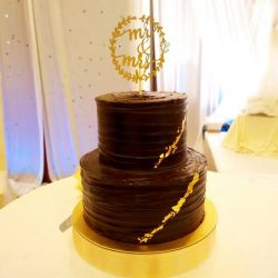 [RIZ DELIGHTS] Dear all,We are having year end promotion on our chocolate ganache wedding cake.