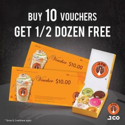 [J.Co Donuts & Coffee] Scrambling to get a last minute gift for Christmas?