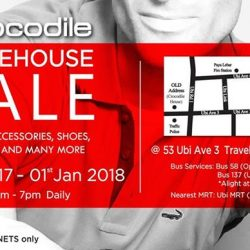 [Crocodile] The long awaited ANNUAL WAREHOUSE SALE for 2017 is back!