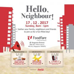[Foodfare] Hello, northsiders!