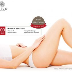 [Prive Aesthetics] Try out Privé's latest proprietary treatment, designed by Doctors - Legacy Vacuum.
