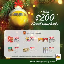[7-Eleven Singapore] Get away this Christmas with $200 FlyScoot vouchers!