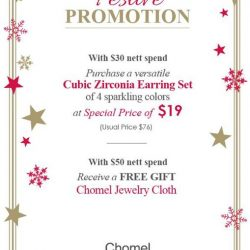 [Chomel] In-store festive promotion!