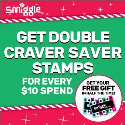 [Smiggle] smigglers, get your FREE gift in half the time!