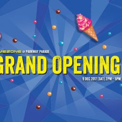 [Parkway Parade] It's going to be nothing short of a carnival here at the Timezone Singapore Grand Opening.